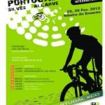 Mountainbikers fietsen voor de Olympische Spelen