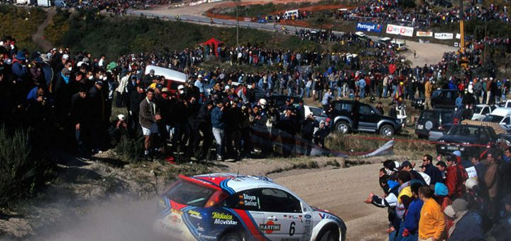 Publiek bij Rally Portugal