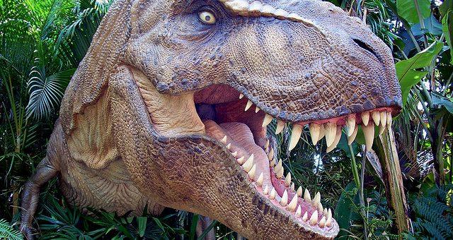 Levensgrote dynosaurussen in Portimão - Algarve